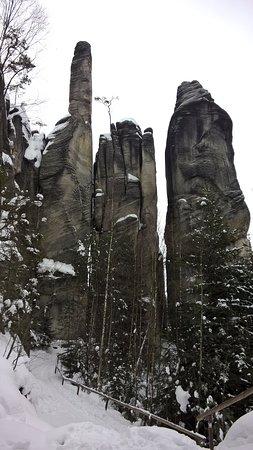 Hradec Kralove Region, Czech Republic: skały