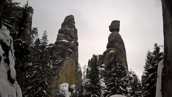 Hradec Kralove Region, Czech Republic: chłop z babą