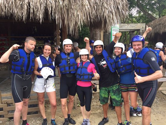 Cabarete, Dominican Republic: Canyoning