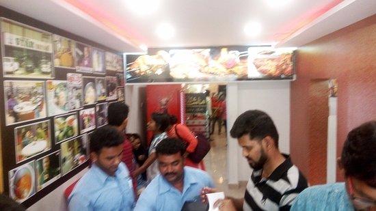 Display of food items - Picture of Ambur Star Biriyani, Chennai