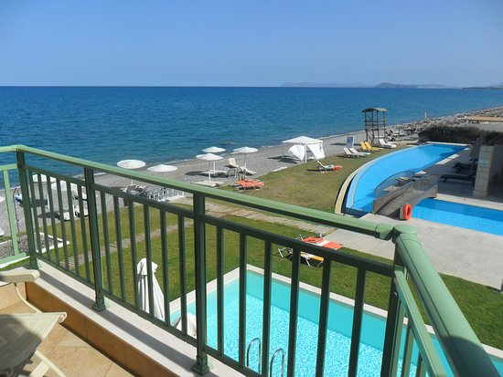 Grand Bay Beach Resort: Balcon et vue de la chambre