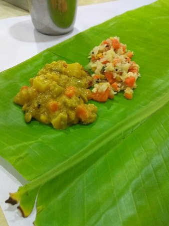 Annapoorani - Truly South Indian: Kosambari and saagu