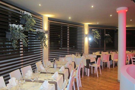 Estoril Beach Club : Panoramica del ristorante