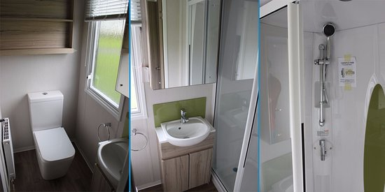 Duns, UK: Luxury Holiday Homes - Swift Alsace Bathroom