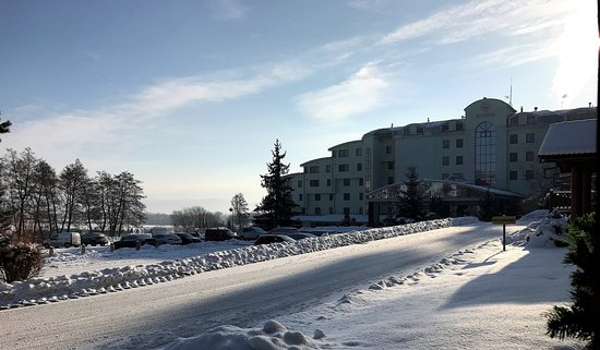 Hotel & Spa Resort Kaskady: Hotel in winter