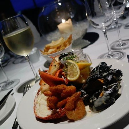 Jacks Coastguard Restaurant: Seafood Platter - subject ot availability