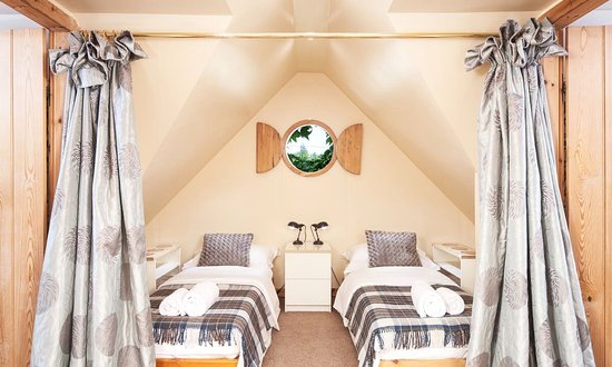 Port of Menteith, UK: Cute Box Room upstairs in The Coach House photo by Neale Smith Photography