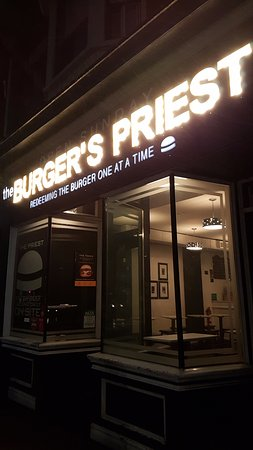 Photo of American Restaurant Burger's Priest at 463 Queen St W, Toronto M5V 2A9, Canada