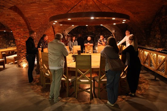Hodonin, Чехия: South Moravian wine cellar
