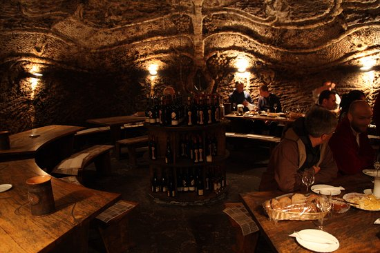 Hodonin, Czech Republic: South Moravian wine cellar