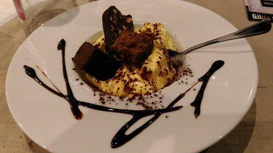 Province of Modena, Italy: mascarpone con misto dolci al cioccolato