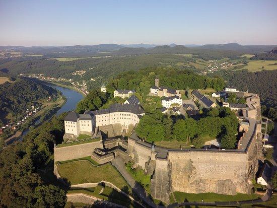 Koenigstein, Alemania: Westansicht der Festung Königstein, © Heiko Gottlöber