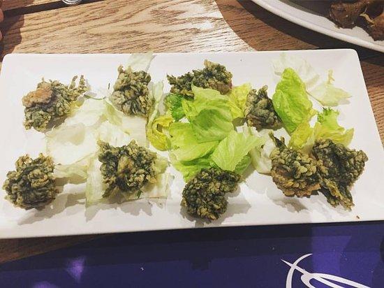 Ortigas de mar en tempura buen simas se deshacen en la Cocinar ortigas de mar