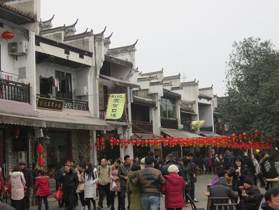 Wangcheng County, Κίνα: Old-style rooflines