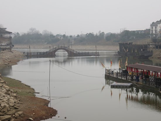 Wangcheng County, Chiny: The river
