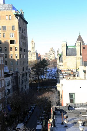 View of Central Park from Hotel Wales, 7th floor