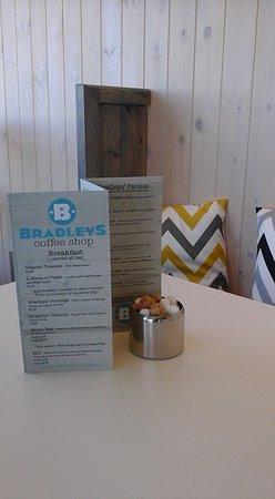 Benllech, UK: new menus