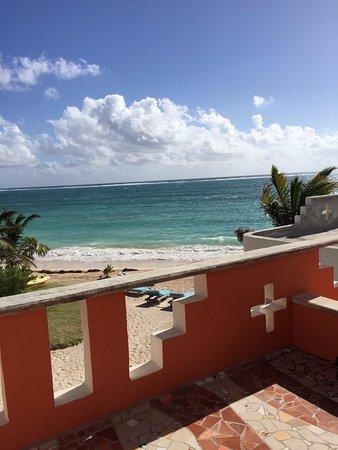 Mayan Beach Garden: View from second floor room