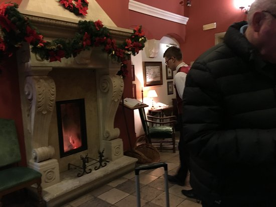 Hotel Grodek: Hotel reception
