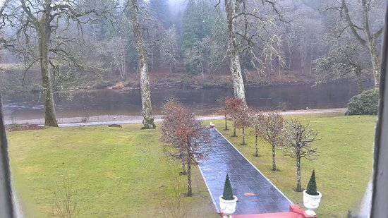 Dunkeld, UK: View from our room