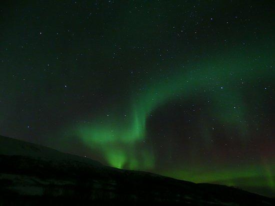 Krokelvdalen, Norwegia: aurore boréale grâce à Daniel