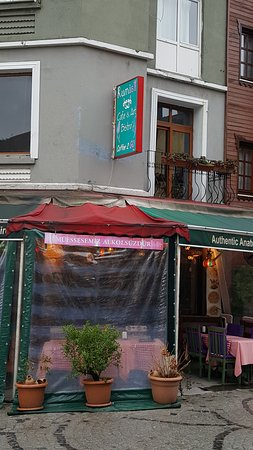 Cafe Rumist: Sit outside and watch the world of Sultanahmet go by.