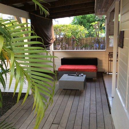 Localize: La terrasse privative