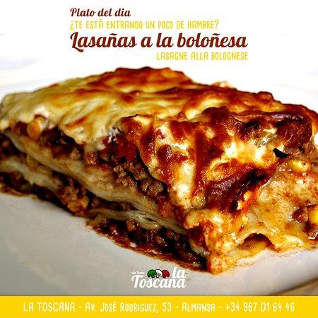 Ricetta Lasagne Toscane.Lasagne Alla Bolognese Picture Of La Toscana Da Irene Almansa Tripadvisor