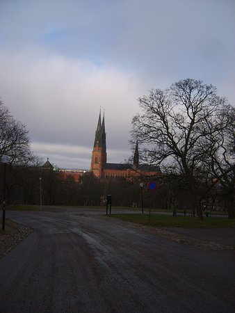 Uppsala, Sweden: подъезжаем