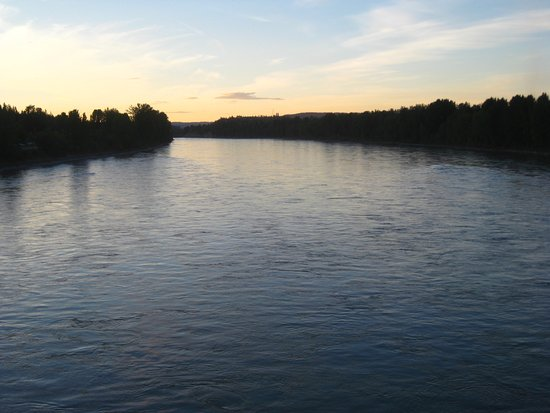 Quesnel, Canada: The mighty Fraser.