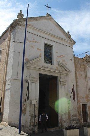 Lentini, Italie : facciata chiesa