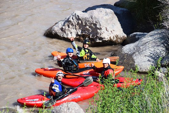 Valais Wallis Adventures: Whitewater kayak Guided Tours