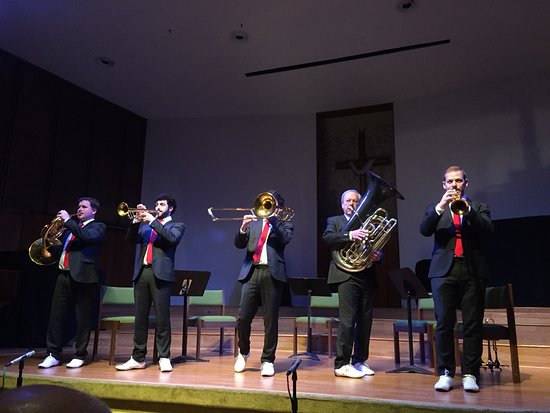 Marathon Shores, Флорида: Canadian Brass came to Islamorada.
