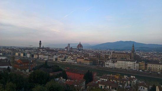 Basilica San Miniato al Monte: and a little bit better view