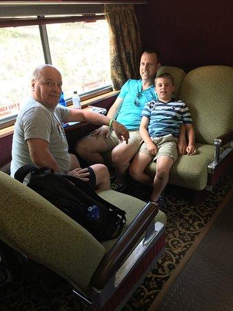 Williams, AZ: First Class Seating