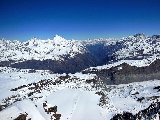 panorama picture of matterhorn glacier paradise zermatt tripadvisor. Black Bedroom Furniture Sets. Home Design Ideas