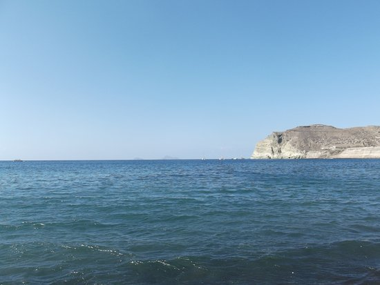 شاطئ ريد: From the beach.