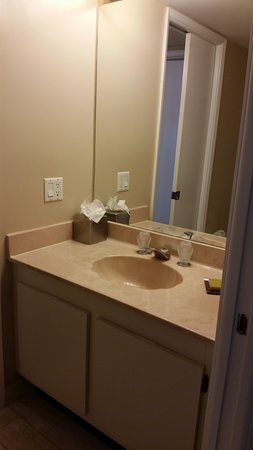 Doubletree by Hilton Grand Hotel Biscayne Bay: This is the second bathroom