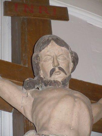 Détail du Christ en croix