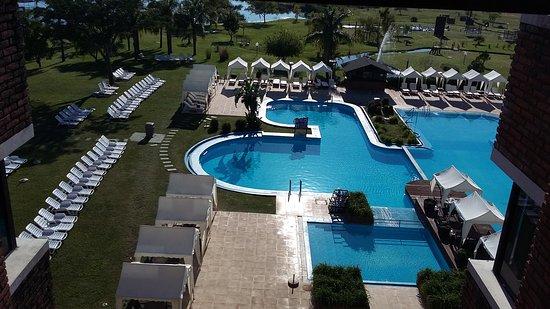Arapey Thermal Resort and Spa: Vista desde el pasillo del 3er Piso