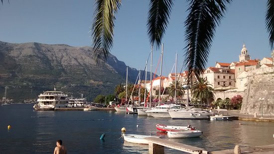 Korcula Island, Croacia: Korcula Harbour