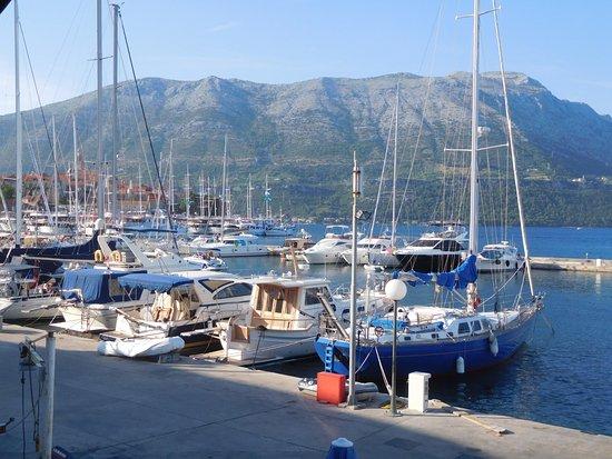 Korcula Island, Croacia: Harbour in Korcula