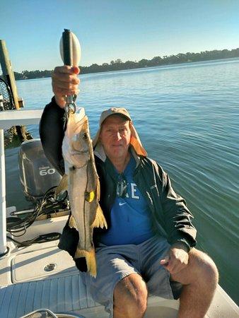 Jensen Beach, FL: 8 pound snook