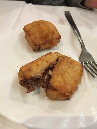 Ristorante Cinese Oriente: Nutella fritta