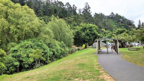 Talisman Cafe : Car Park area for people