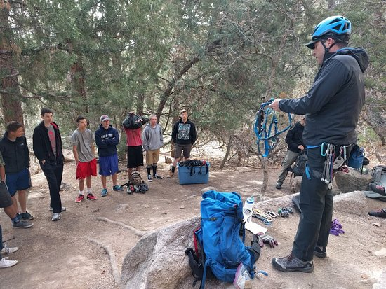 Evergreen, CO: Introduction to Rock Climbing