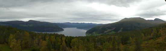 Sogn og Fjordane, Norway: Utsikt frå rom