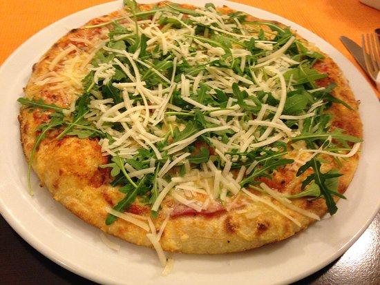 Blankenheim, Germany: Leckere Pizza