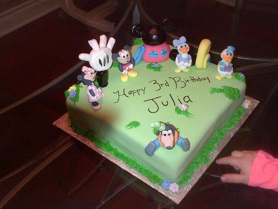 Welland, Kanada: Mickey Mouse Clubhouse Cake