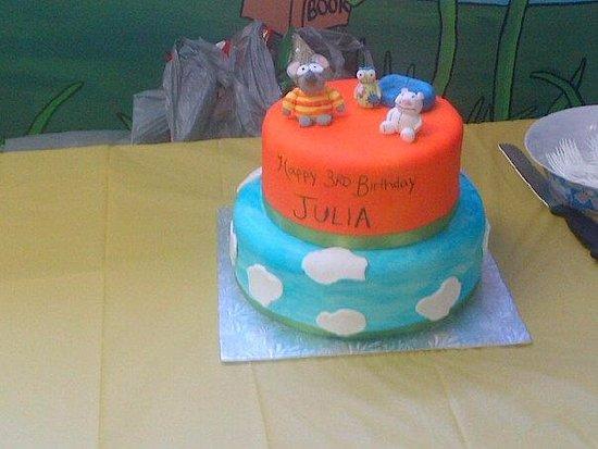 Welland, Canadá: Toopy and Binoo Cake
